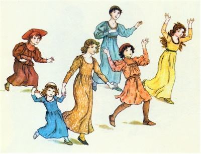 illustration for The Pied Piper of Hamelin 29