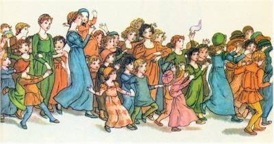 illustration for The Pied Piper of Hamelin 32