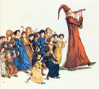 illustration for The Pied Piper of Hamelin 34
