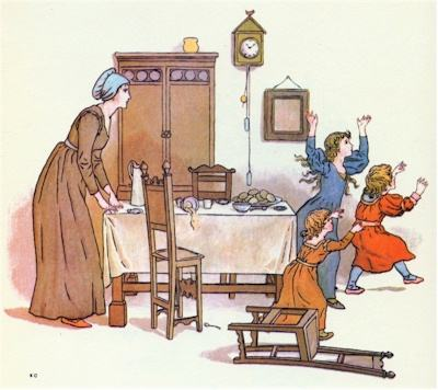 illustration for The Pied Piper of Hamelin 21