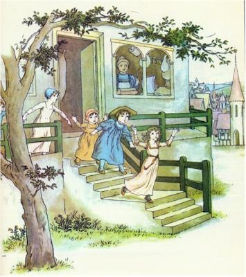 illustration for The Pied Piper of Hamelin 22