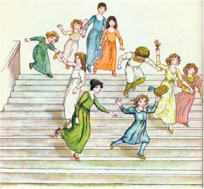 illustration for The Pied Piper of Hamelin 23