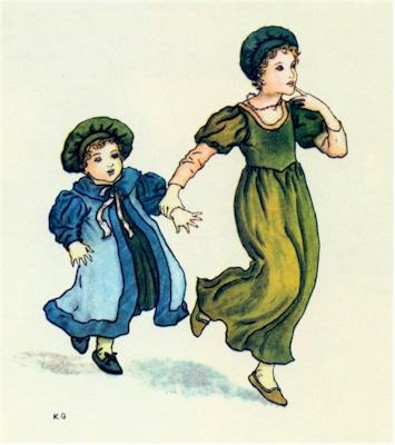 illustration for The Pied Piper of Hamelin 24
