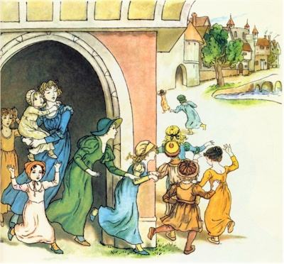 illustration for The Pied Piper of Hamelin 26