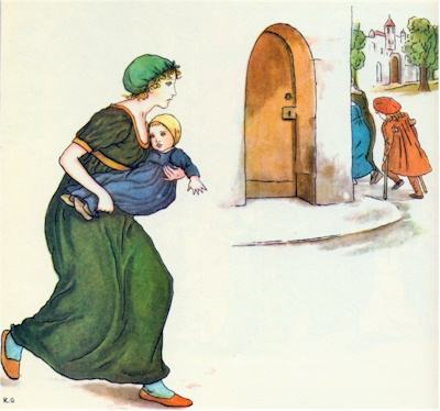 illustration for The Pied Piper of Hamelin 27