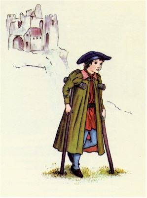 illustration for The Pied Piper of Hamelin 36