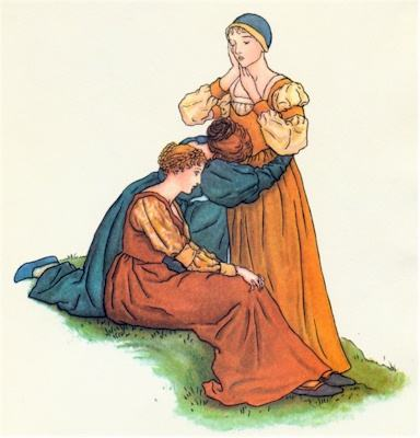 illustration for The Pied Piper of Hamelin 37