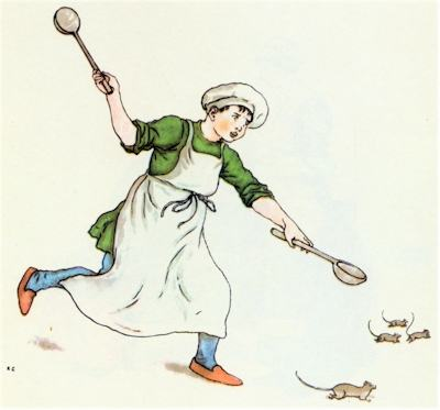 illustration for The Pied Piper of Hamelin 6
