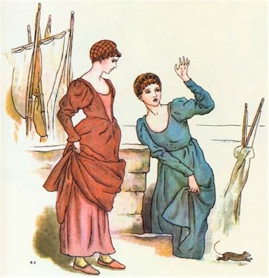 illustration for The Pied Piper of Hamelin 9