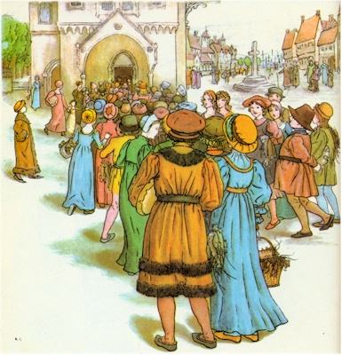 illustration for The Pied Piper of Hamelin 10