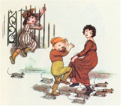 illustration for The Pied Piper of Hamelin 12