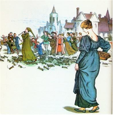 illustration for The Pied Piper of Hamelin 14