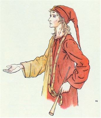 illustration for The Pied Piper of Hamelin 16