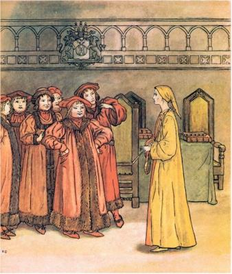 illustration for The Pied Piper of Hamelin 17