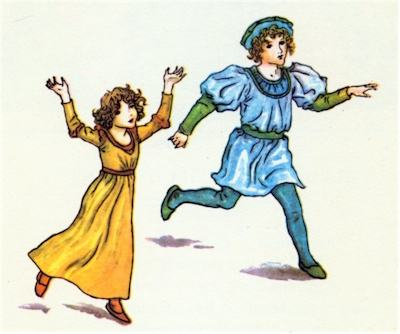 illustration for The Pied Piper of Hamelin 1