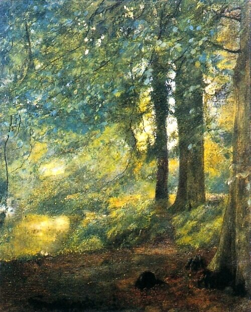 Charles William Mansel Lewis, In the Woods