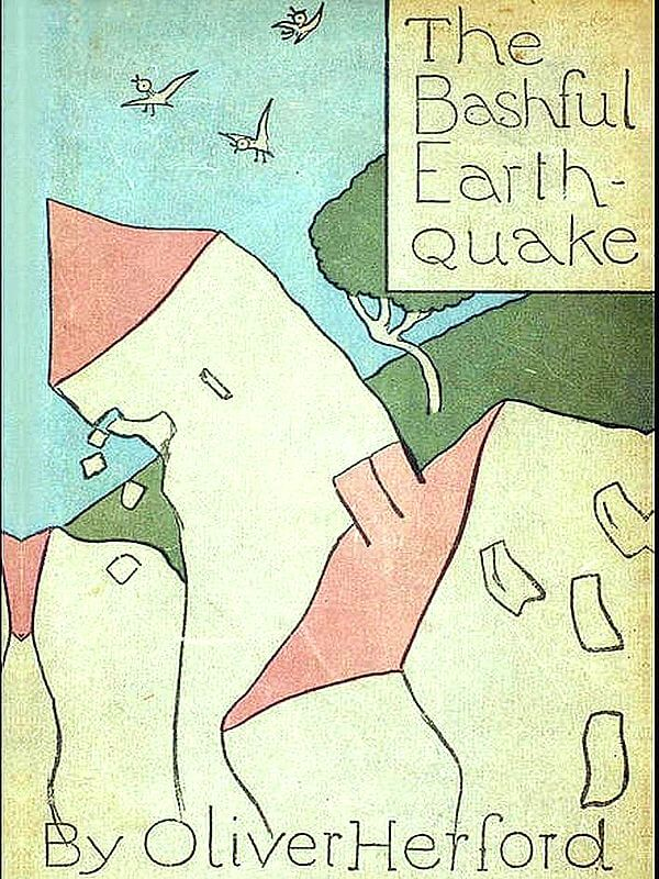 An illustration for the story The Bashful Earthquake by the author Oliver Herford