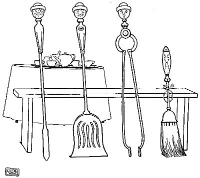 illustration for The Broom, the Shovel, the Poker and the Tongs 2