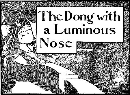 illustration for The Dong with a Luminous Nose
