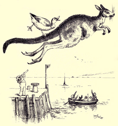 illustration for The Duck and the Kangaroo 4