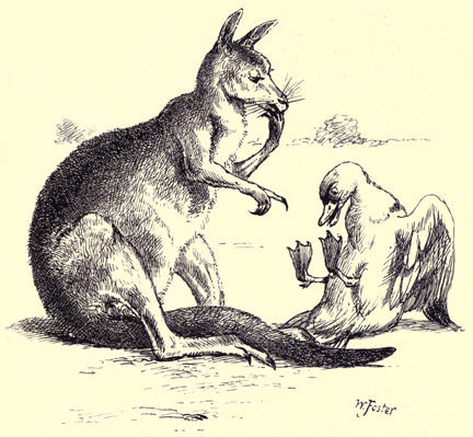 illustration for The Duck and the Kangaroo 5