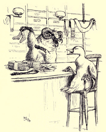 illustration for The Duck and the Kangaroo 6