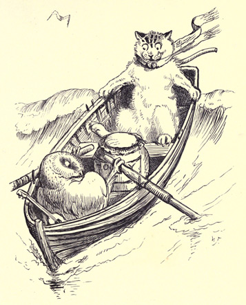 illustration for The Owl and the Pussy-Cat 1
