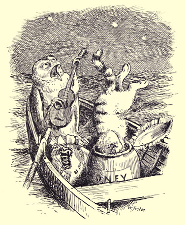 illustration for The Owl and the Pussy-Cat 2