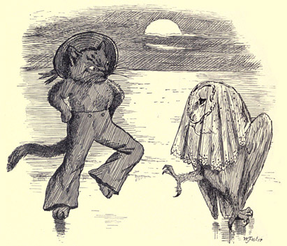 illustration for The Owl and the Pussy-Cat 7