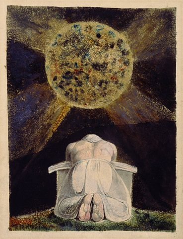 An illustration for the story The Song of Los by the author William Blake