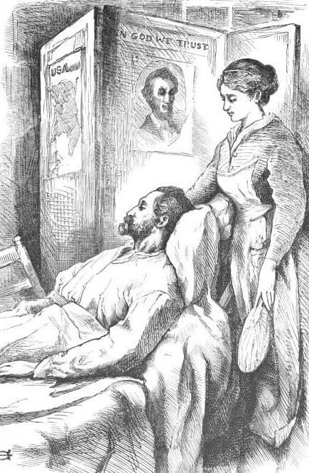An illustration for the story To Louisa May Alcott. By Her Father by the author Louisa May Alcott