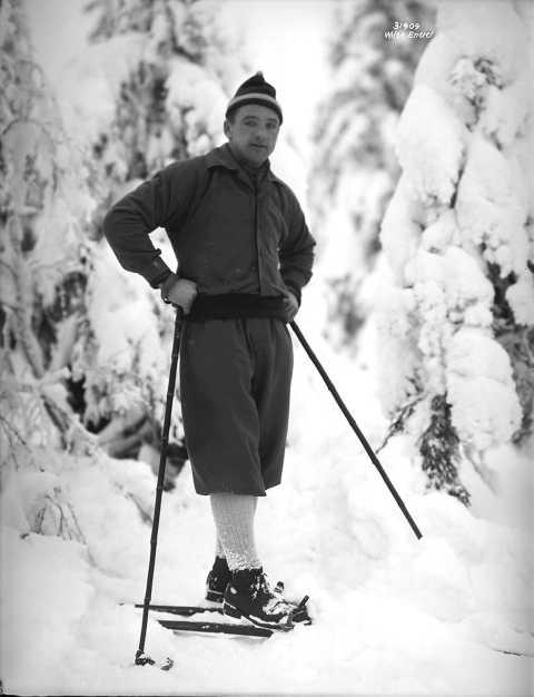 Winter Sports Stories inspired by the Olympics, Skier Jacob Tullin Thams