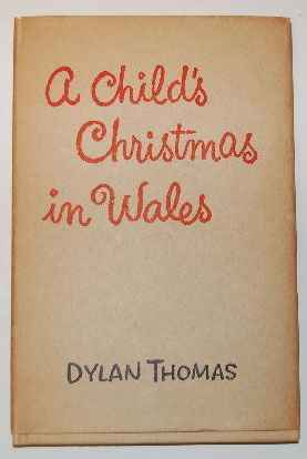 An illustration for the story A Child's Christmas in Wales by the author Dylan Thomas