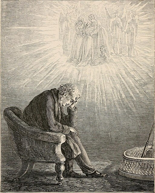 A Child's Dream of a Star, illustration 1871