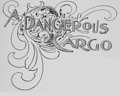 An illustration for the story A Dangerous Cargo by the author Walter McRoberts