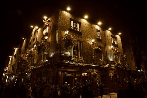 A Little Cloud, The Temple Bar, Dublin