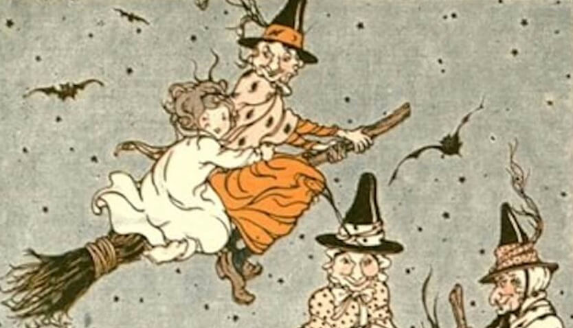 A Tale for Halloween, the witches