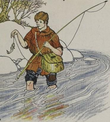 Aesop's Fable: The Fisherman and the Little Fish