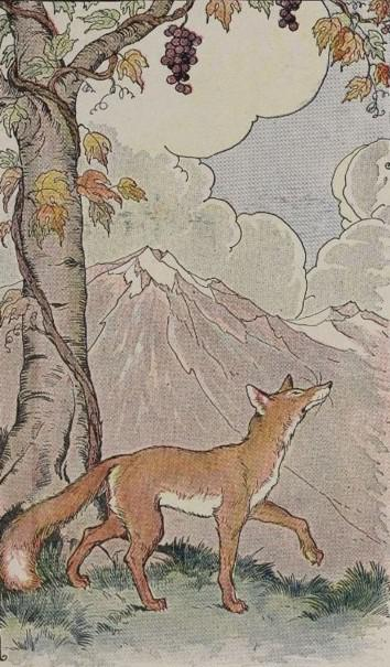 Aesop, The Fox and the Grapes