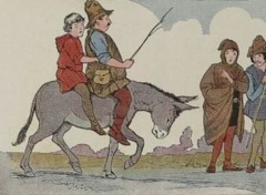 Aesop's Fables - The Miller his Son and the Ass 2 Fable