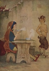 Aesop's Fables - The Man and the Satyr Fable
