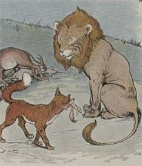 Aesop's Fables - The Lion the Ass and the Fox Fable