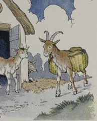 Aesop's Fables - The Wolf the Kid and the Goat Fable