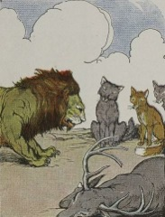 Aesop's Fables - The Lion's Share Fable