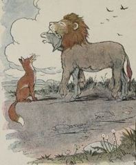 Aesop's Fables - The Ass in the Lion's Skin Fable