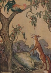 Aesop's Fables - The Fox and the Cock Fable