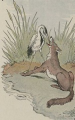 Aesop's Fables - The Wolf and the Crane Fable