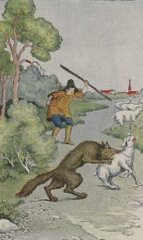 Aesop's Fables - The Shepherd Boy and the Wolf Fable