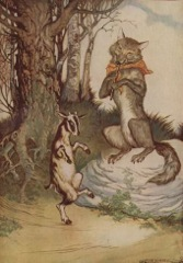 Aesop's Fables - The Wolf and the Kid Fable