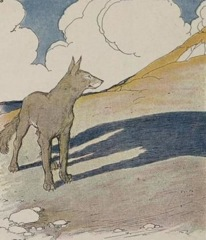 Aesop's Fables - The Wolf and his Shadow Fable